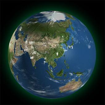 three.js 地球