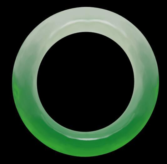 产品三维模型在线预览——玉镯